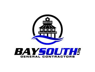 Bay South Ltd logo design