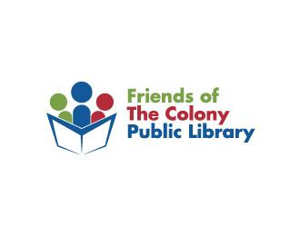 Friends of The Colony Public Library logo design