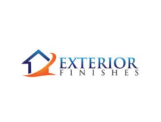 Captivating Exterior Finishes Logo Design Concepts #25