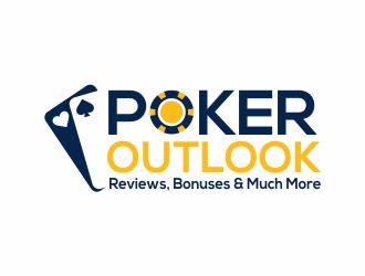 Poker Outlook - Reviews, Bonuses & Much More logo design winner