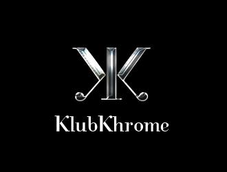 KlubKhrome logo design