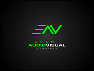 Event Audio Visual Services logo design
