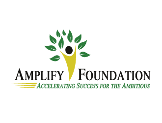 Amplify Foundation: Accelerating Success for the A logo design winner