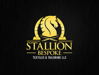 Stallion Bespoke Textiles and Tailoring L.L.C logo design by Arabz