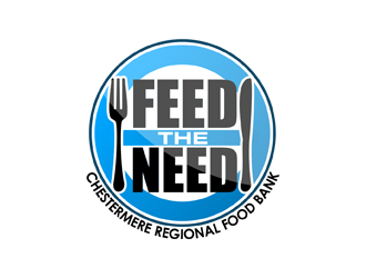 Chestermere Regional Food Bank       (FEED THE NEE logo design by life4dieth