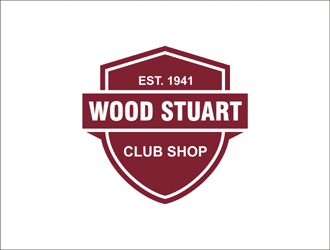 Wood Stuart Club Shop logo design