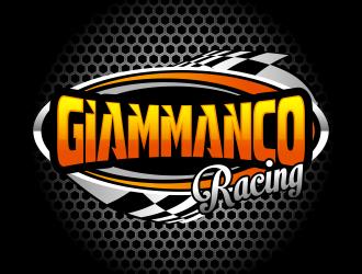 Giammanco Racing logo design - 48HoursLogo.com