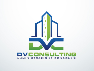 DV CONSULTING logo design by edesigners