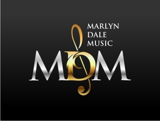 Marlyn Dale Music logo design by jettgraphic