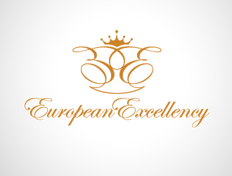 European Excellency logo design