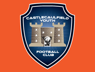 Castlecaulfield Youth Football Club logo design