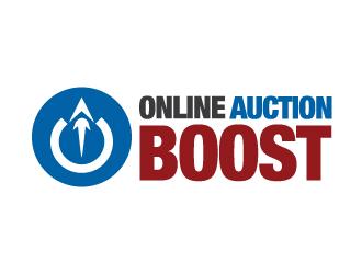 Online Auction Boost  (OnlineAuctionBoost.com) logo design