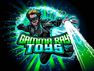Gamma Ray Toys (GammaRayToys.com). Considering  &q logo design