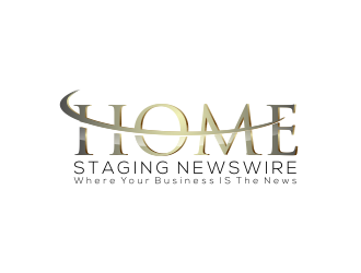 Home Staging Newswire logo design