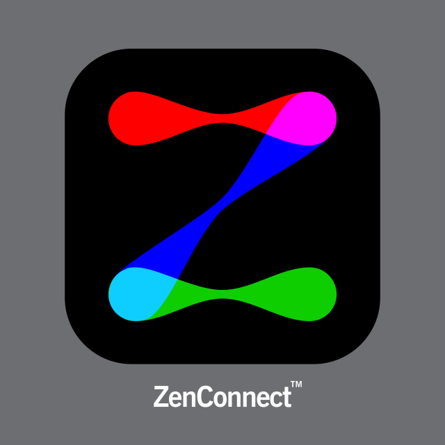 ZenConnect logo design