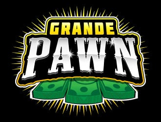 Grande Pawn logo design