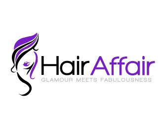 hair affair logo design 48hourslogocom