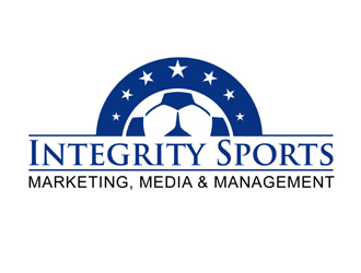 Integrity Sports Marketing, Media & Management logo design
