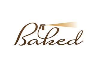 Baked logo design