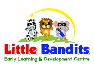 Little Bandits logo design