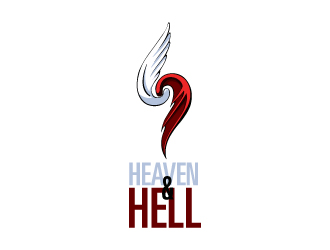 Heaven and Hell logo design
