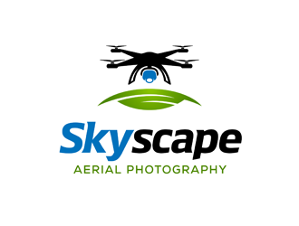 Skyscape Aerial Photography logo winner