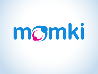 momki logo design