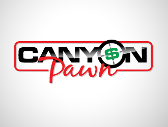 CANYON PAWN logo design