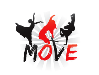 move logo design