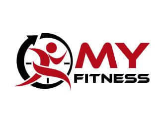 MY FITNESS logo design - 48HoursLogo.com