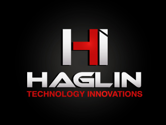 Haglin Technology Innovations logo design