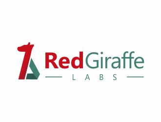 Red Giraffe Labs logo design