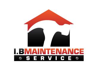 I.B Maintenance Service logo design