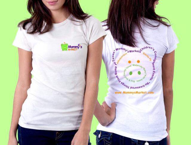 T-Shirt design for Mommy's Market Children's logo design by smith1979
