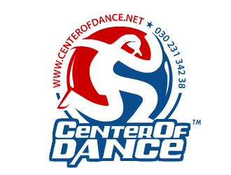 CENTER OF DANCE logo design