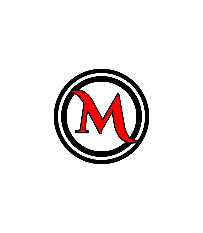 Round Logo/Coin Letter M theme web design - 48HoursLogo.com