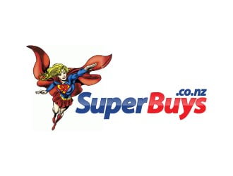 SuperBuys logo design