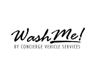 Wash Me! by Concierge Vehicle Services logo design