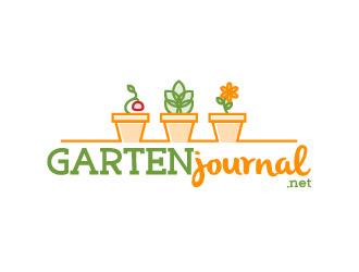 Gartenjournal logo design