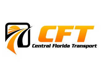 Central Florida Transport logo design - 48HoursLogo.com