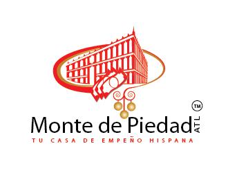 Monte De Piedad Atl. logo design