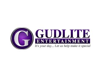 Gudlite Entertainment logo design