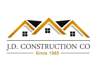 Dm Construction Logo Design