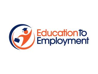 education to employment logo design 48hourslogocom