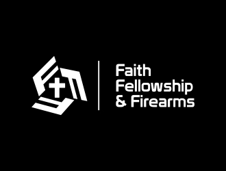 Faith, Fellowship & Firearms logo design