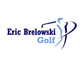 Eric Brelowski Golf logo design - 48HoursLogo.com
