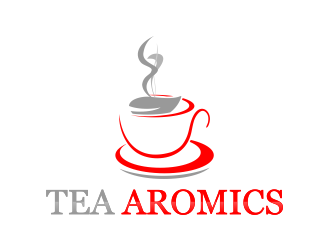 Tea Aromics logo design