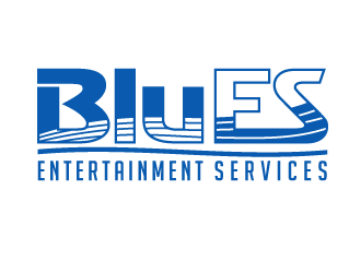 BluES logo design