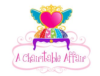 MSTICAL PRINCESS dba  A CHAIRITABLE AFFAIR logo design