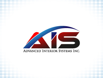 Advanced Interior Systems Inc. Logo Design Concepts #13